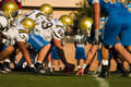 Line of Scrimmage 2 Royalty Free Stock Images