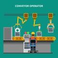Linear Flat manufacture conveyor line equipment