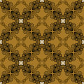 Linear ornament in art deco style in old gold geometric colors texture for web print wallpaper decals fall winter fashion fabric Stock Photography