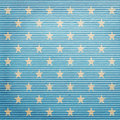 Lined paper with stars as background Stock Photography