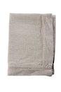 Linen napkin on white Royalty Free Stock Photo