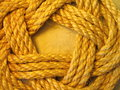 Linen rope texture suitable as background Stock Images