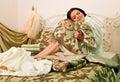 Linens, bedding Royalty Free Stock Photo