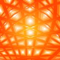 Lines in spase orange color and light Royalty Free Stock Photo