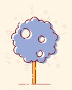 Lines sweets cotton candy Royalty Free Stock Photo