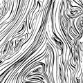 Lines wavy background. Vector texture with hand drawn ink strokes. Black and white