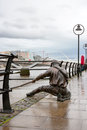 The Linesman statue. Dublin, Ireland Stock Images