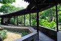 A Lingering Garden landscape Royalty Free Stock Photo
