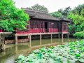 The Lingering Garden, a renowned classical Chinese garden, recognized as a UNESCO World Heritage Site at Suzhou, Jiangsu province, Royalty Free Stock Photo