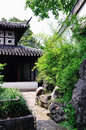 Lingering Garden Road Royalty Free Stock Photo