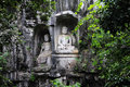 Lingyin temple klippe cliff statues in hangzhou china Royalty Free Stock Photo