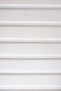 Lining boards white on the ceiling Royalty Free Stock Photography