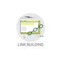 Link Building Seo Keywording Search Icon