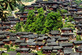 Link to image this photo was taken place is china s guizhou province thousand households in jiangxi province the miao qian this is Stock Photos