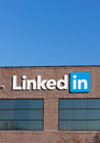 Linkedin corporate headquarters mountain view ca usa february exterior view of is a social networking website for professionals Royalty Free Stock Photo