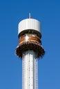 Linnanmaki Amusement Park, Kingi freefall tower ride Royalty Free Stock Photo