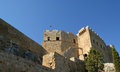 Linods acropolis on rhodos ancient archeological site greece Royalty Free Stock Photo
