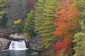 Linville Falls Cascade Stock Photography