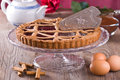 Linzer torte. Royalty Free Stock Photo