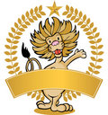 Lion - Banner Royalty Free Stock Image