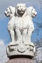 Lion Capital of the Pillars of Ashoka from Sarnath.