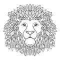 Lion head.