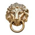 Lion head, Door knocker