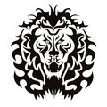 Lion Head Graphic Stock Image