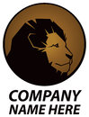 Lion logo a icon for your company Royalty Free Stock Images