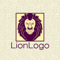 Lion Logo For Your Company Royalty Free Stock Photo