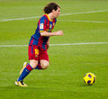 Lion Messi (FC Barcelone) Photo stock