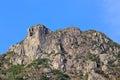 Lion Rock, lion like mountain Royalty Free Stock Photo