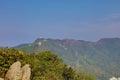 Lion rock mountain in Hong Kong Royalty Free Stock Photo