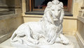 Lion statue Stock Photos