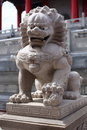 Lion Statue With Chinese Style