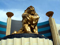 LIon statue, MGM Grand Stock Photography