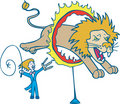 Lion Tamer Stock Images