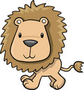 Lion Vector Illustration Royalty Free Stock Photo