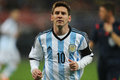 Lionel messi andres pictured during the friendly football match between romania and argentina the final score th march national Stock Photos