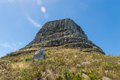 Lions head peak part of the table mountain range in cape town Royalty Free Stock Image