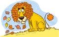 Lions mane Royalty Free Stock Photo