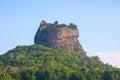 Lions Rock Sigiriya Royalty Free Stock Photo