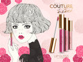 Lip gloss ad Royalty Free Stock Photo