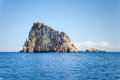 Lipari islands an image of the active volcano at italy Stock Images