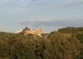 Lipnice castle Royalty Free Stock Photo