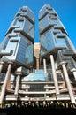 Lippo Centre, Hong Kong Royalty Free Stock Photo