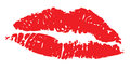 Lips red illustration