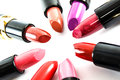Lipstick colors Royalty Free Stock Photo