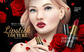 Lipstick couture ad Royalty Free Stock Photo
