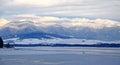 West tatras and water basin Liptovska Mara